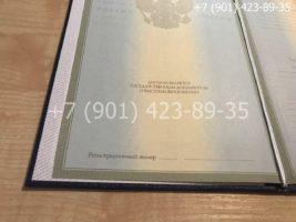 Диплом магистра 2004-2009 годов, старого образца, титульный лист-3