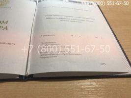 Диплом магистра 2014-2018 годов, нового образца, титульный лист-3