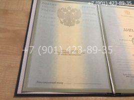 Диплом специалиста 2002-2008 годов, старого образца, титульный лист-2