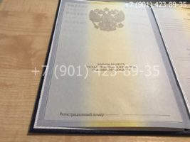 Диплом магистра 2009-2011 годов, старого образца, титульный лист-1