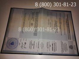 Диплом магистра 1997-2003 годов, старого образца (заполненный), приложение-1