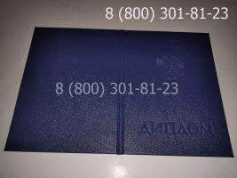 Диплом техникума 1997-2003 годов, старого образца (заполненный), обложка