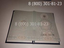 Диплом ПТУ 2008-2014 годов, нового образца (заполненный), титульный лист-2