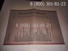 Диплом техникума 2004-2006 годов, старого образца (заполненный), приложение-2