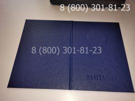 Диплом магистра 2011-2013 годов, старого образца (заполненный), обложка