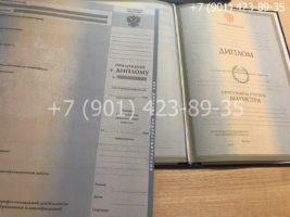 Диплом магистра 2004-2009 годов, старого образца, титульный лист с приложением