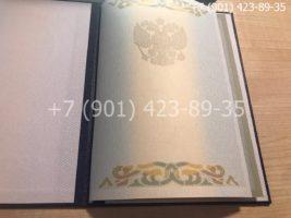 Диплом специалиста 2002-2008 годов, старого образца, титульный лист-1