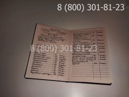 Диплом ПТУ 1995-2005 годов, старого образца (заполненный), приложение-2