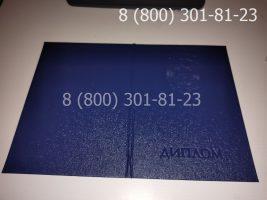 Диплом магистра 2010-2011 годов, старого образца (заполненный), обложка