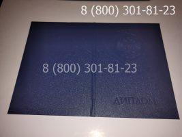 Диплом магистра 2004-2009 годов, старого образца (заполненный), обложка