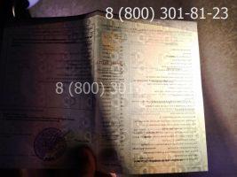Диплом техникума 2014-2020 годов, нового образца (заполненный), приложение на просвет