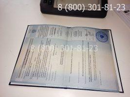 Диплом магистра 2011-2013 годов, старого образца (заполненный), приложение