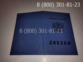Диплом техникума 2011-2013 годов, старого образца (заполненный), обложка