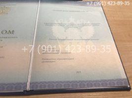 Диплом техникума 2014-2019 годов, нового образца, титульный лист-2