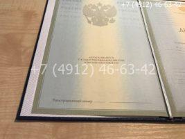 Диплом бакалавра 2004-2009 годов, образец, титульный лист-2