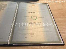Диплом магистра 2004-2009 годов, образец, титульный лист-1