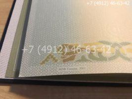 Диплом магистра 2004-2009 годов, образец, титульный лист-2