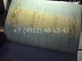 Диплом магистра 2011-2013 годов, образец, титульный лист-4