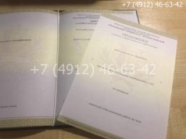 Диплом о профессиональной переподготовке, образец, титульный лист-5