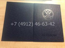 Диплом специалиста 1997-2002 годов, образец, обложка