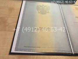 Диплом специалиста 2011-2013 годов, старого образца, титульный лист-1