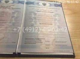 Диплом техникума 2011-2013 годов, образец, титульный лист-2
