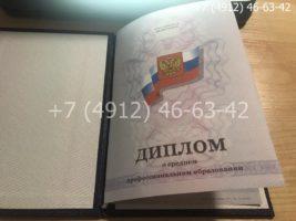 Диплом техникума 2011-2013 годов, образец, титульный лист-3