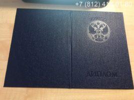 Диплом бакалавра 2010-2011 годов, образец, обложка