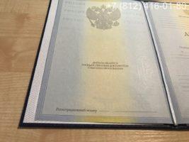 Диплом бакалавра 2010-2011 годов, образец, титульный лист-2