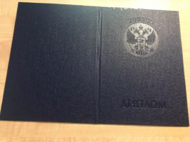 Диплом бакалавра 2011-2013 годов, образец, обложка
