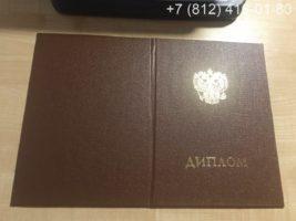 Диплом о послевузовском профессиональном образовании, интернатура, образец, обложка