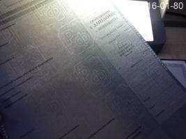 Диплом магистра 2011-2013 годов, образец, приложение
