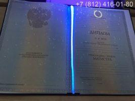 Диплом магистра 2011-2013 годов