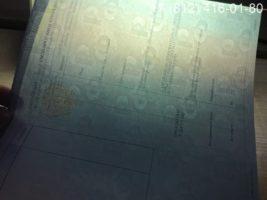 Диплом техникума 2014-2020 годов, образец, титульный лист-4