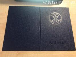 Диплом специалиста 2009-2010 годов, образец, обложка