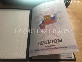 Диплом техникума 2011-2013 годов, старого образца, титульный лист-2
