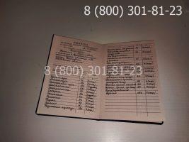 Диплом ПТУ 1995-2005 годов с заполнением, приложение-2