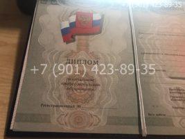 Диплом ПТУ 2008-2014 годов, нового образца, титульный лист-2